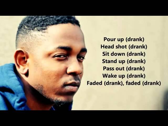 Kendrick lamar swimming pools lyrics on screen hd - Swimming pools by kendrick lamar lyrics ...
