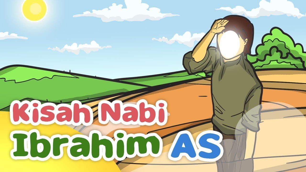 Kisah Nabi Ibrahim AS Mencari Keberadaan Tuhan Kartun Anak Muslim