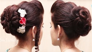 Bridal Hairstyles for Long Hair Tutorial // Easy Updos Hairstyle videos