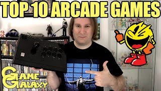 MY TOP 10 ARCADE GAMES - Game Galaxy