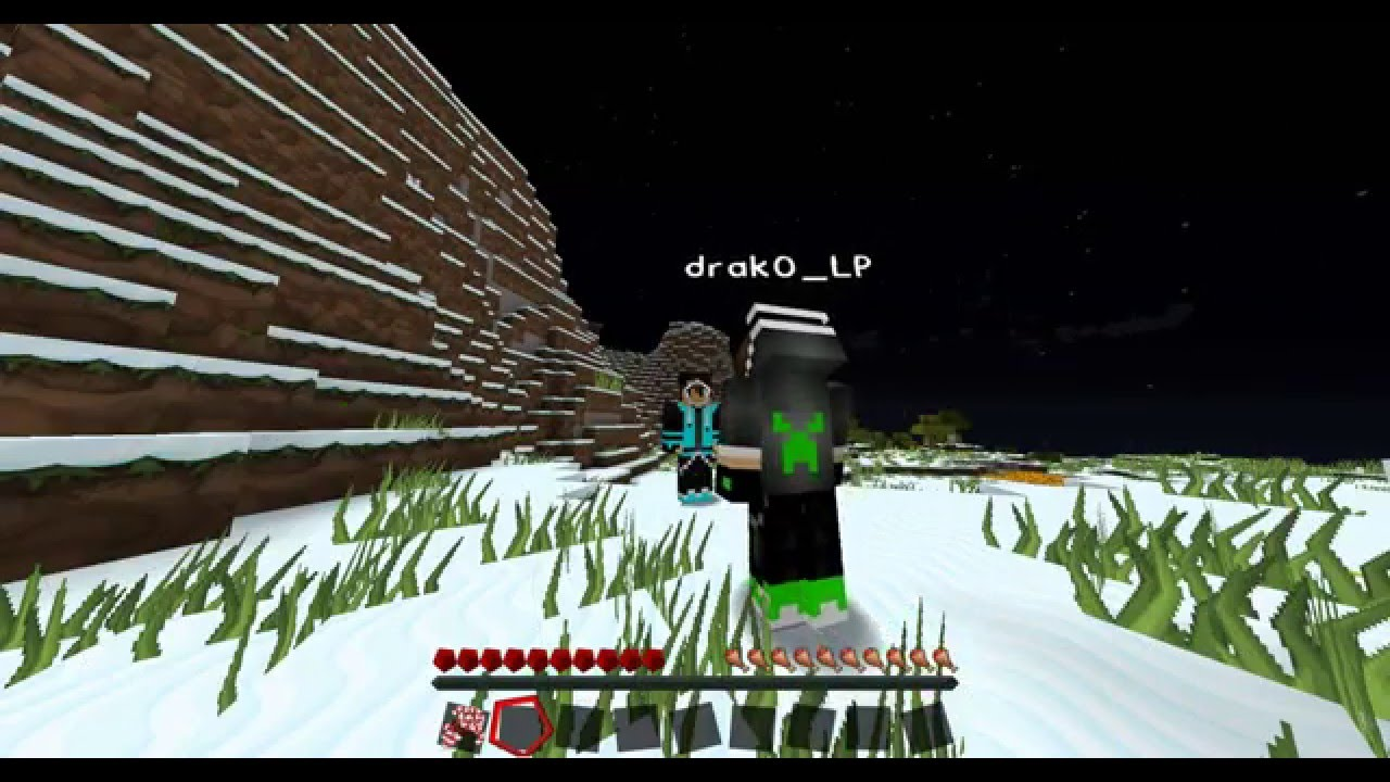 how to make a snowman minecraft