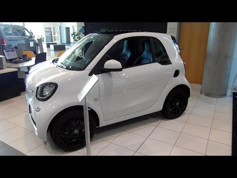 2015 Smart Fortwo coupe by Mercedes-Benz Daimler Review Walkaround Exterior Interior Walkthrough