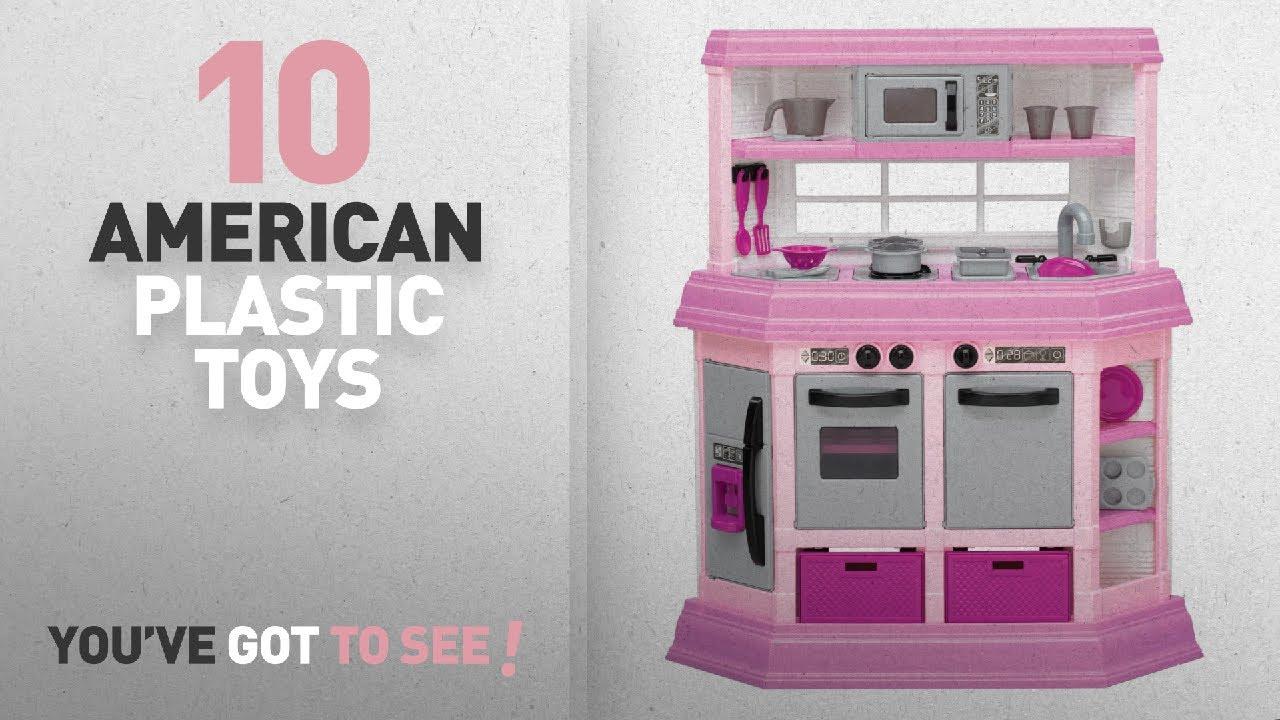 American Plastic Toy Deluxe Custom Kitchen - Creepingthyme.info