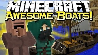 Minecraft | BRING ME THAT HORIZON! | Small Boats Mod Spotlight