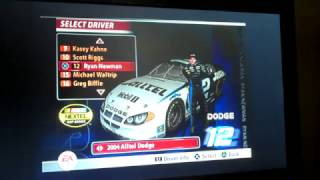 All NASCAR 2005: Chase For The Cup Drivers/Cars/Paint Schemes (Nextel Cup)