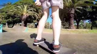 Luke skating Subi