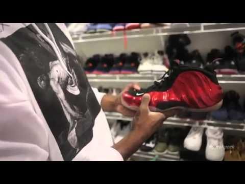 A Sneak Peek Inside Nick Young's Sneaker Closet