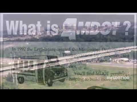 MDOT 100 Moment: 1992 - The Mississippi Department of Transportation Formed