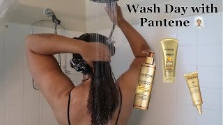 Wash Day With Pantene | Intense Rescue Shots on Natural Hair