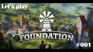 Foundation ⚒ deutsch #001 - Die wuselige Siedlung am Flussbett