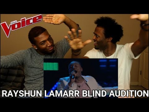 The Voice 2018 Blind Audition - Rayshun LaMarr: