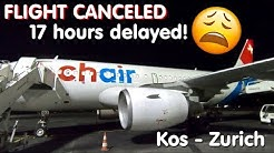 ✈TRIP REPORT | Chair Airlines (Economy) | Flight Canceled! | Airbus A319