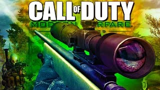 Repeat youtube video SNIPING Fools! - Call of Duty Modern Warfare Remastered!