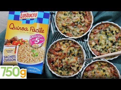 recette-de-mini-gratins-de-quinoa-aux-courgettes-&-lardons---750g-{-express-}