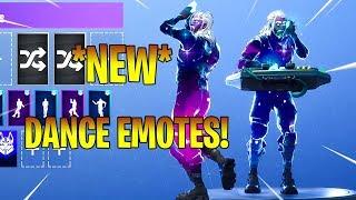 *NEW* GALAXY SKIN With ALL NEW SEASON 6 DANCE EMOTES! Fortnite Battle Royale