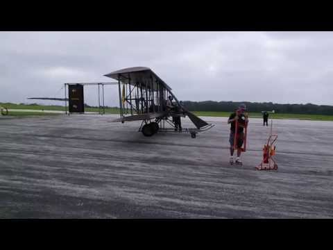 Flying (in) the Wright B Flyer