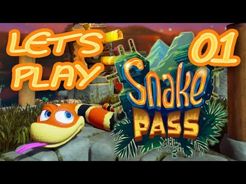 Let's Play Snake Pass Nintendo Switch World 1 Part 1