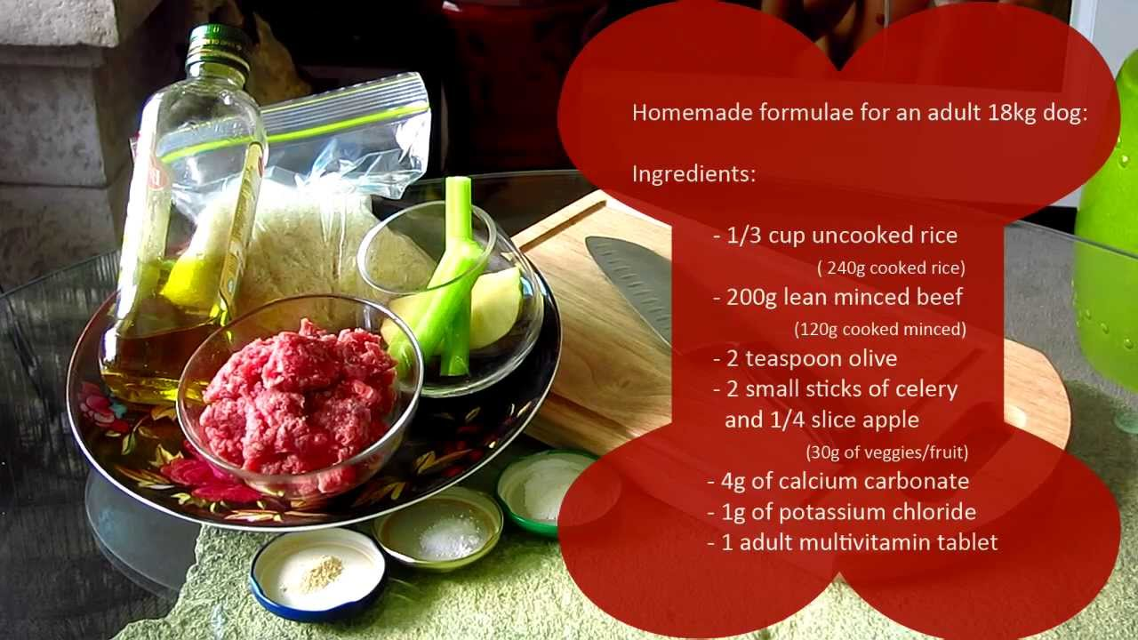 How To Cook For Your Dog Basic Food Recipe Emporium Vet You