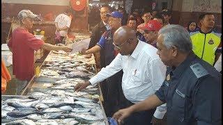 Lima agensi periksa Pasar Borong Pandan