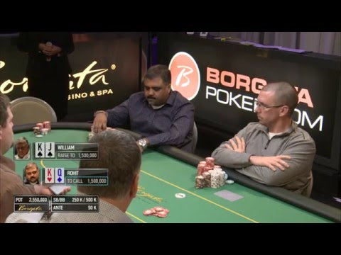 Borgata Winter Poker Open 2016: Event 1 $2 Million Guaranteed Final Table