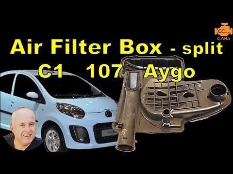 Citroen C1 PCV Valve | Broken Air Filter Box