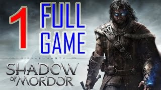 Middle Earth Shadow of Mordor Walkthrough Part 1 PS4 Gameplay lets play playthrough - No Commentary
