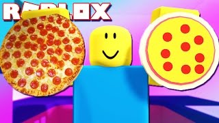 GUMMY FOOD VS REAL FOOD CHALLENGE IN ROBLOX!