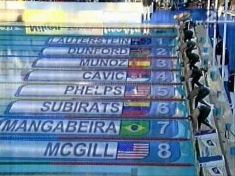 Michael Phelps swimming it my life