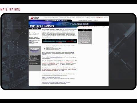 Mitsubishi Motors Service  Information Retrieval