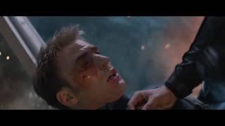 """Капитан Америка против Зимнего Солдата в фильме """"Первый Мститель 2"""" часть 2"""
