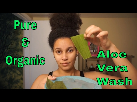 Pure & Organic Aloe Vera Wash for Natural Hair