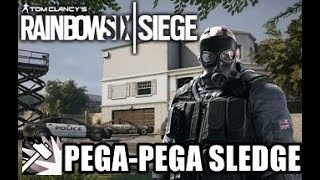 RAINBOW SIX SIEGE - Slege Saiu Na Jaula É Pegou A Marreta Do Zoio (XBOX ONE)