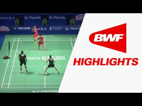 Tahoe China Open 2017 | Badminton SF – Highlights