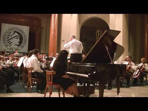 Mozart Concierto piano y orquesta 1 Ines Sabatini