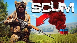 New Character + Finding Military Loot!! (SCUM Gameplay Survival)
