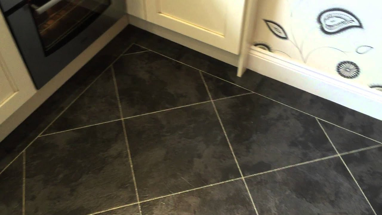 Karndean Palio Clic Lucca Cp4509 Installed Over Existing Davinci In Kitchen Part1