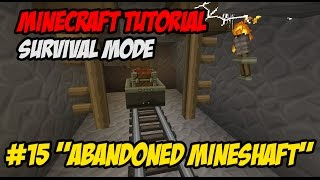 "Tutorial Minecraft Survival Indonesian E15 ~ ""Abandoned Mineshaft"""