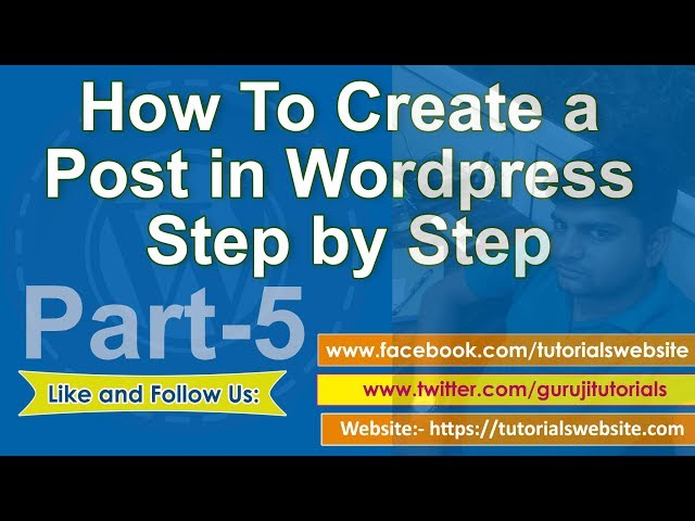 wordpress tutorial in hindi step by step- Part-5: How to create a new post in wordpress