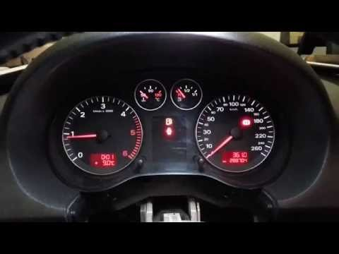 Audi A3 instrument cluster problems /Odometer immobilizer - YouTube