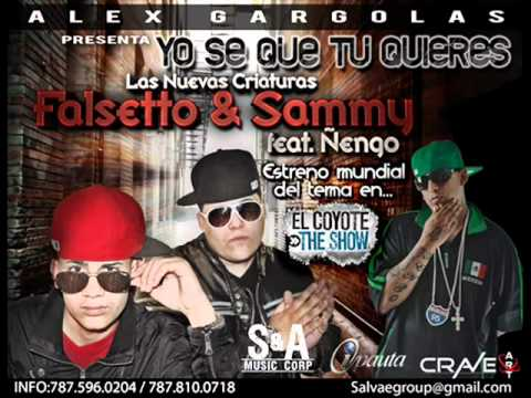 Yo Se Que Tu Quieres - Ñengo Flow Ft Falsetto & Sammy ►NEW ® Reggaeton 2011◄