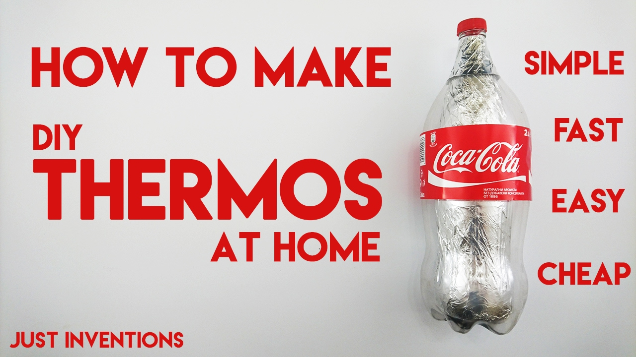 DIY Thermos Coca Cola/ How to make Thermos at home - YouTube