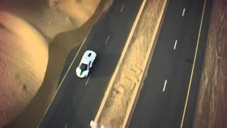 Dubai police car McLaren vs Drone