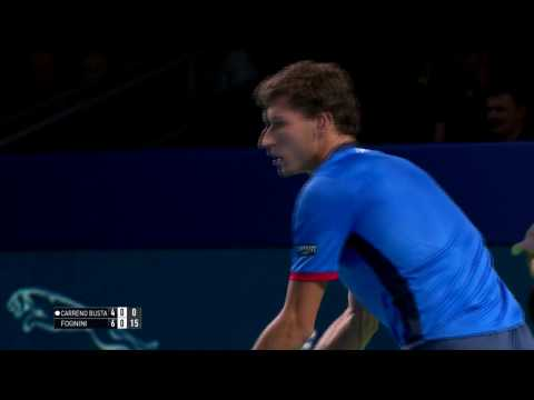 Carreno Busta Defeats Fognini In Moscow 2016 Final