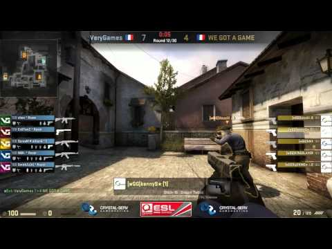 ESL Pro Series France Cup #4 Final: VeryGames vs WE GOT GAME (Game Three)