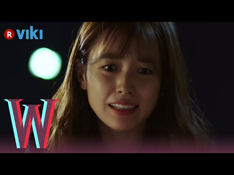 W - EP 1   Han Hyo Joo Trying to Save Lee Jong Suk's Life After Being Sucked Into Comic