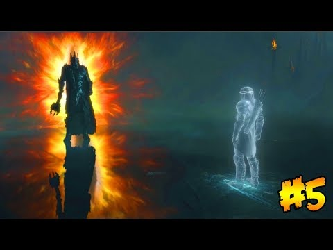 SHADOW OF WAR - BEATING THE GAME + ENDING!!! (Shadow of War Gameplay Walkthrough) (Part 5)
