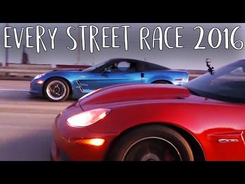 Every Single Street Race 2016 - Movie Night Time!