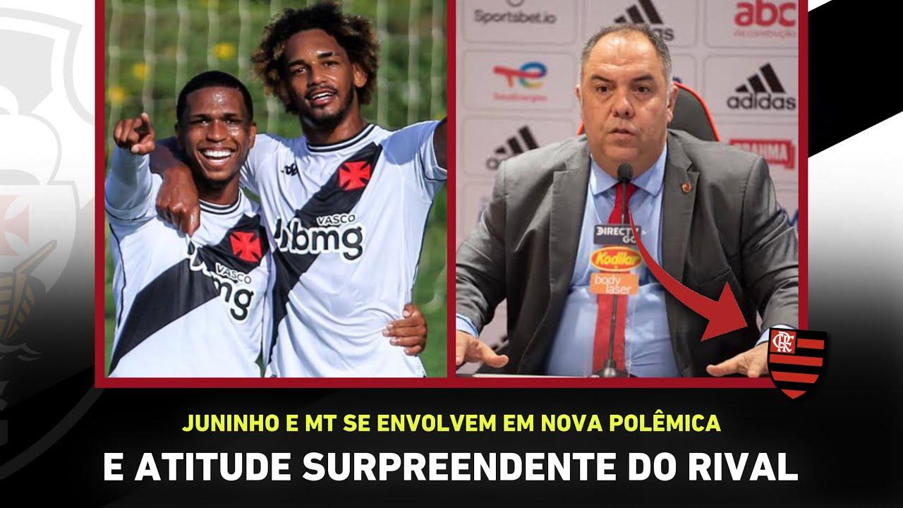 INACREDITÁVEL! Flamengo COPIA ação do Vasco e POLÊMICA com Juninho e MT! I Noticias do Vasco
