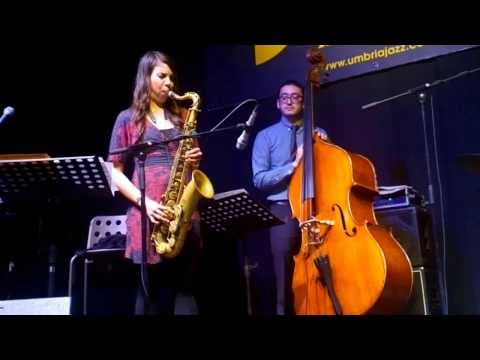 Melissa Aldana (Thelonious Monk Intern. Sax Competition 2013) feat. Carl Allen & David Wong