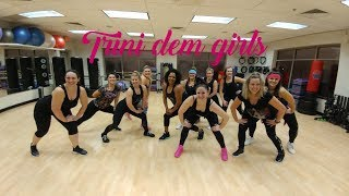 Trini dem Girls - Nicki Minaj  | Dance Fitness | ashley jabs